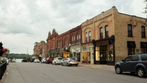 Southeast-facing photo of Queen St, downtown Port Perry. Photo by Shay Conroy