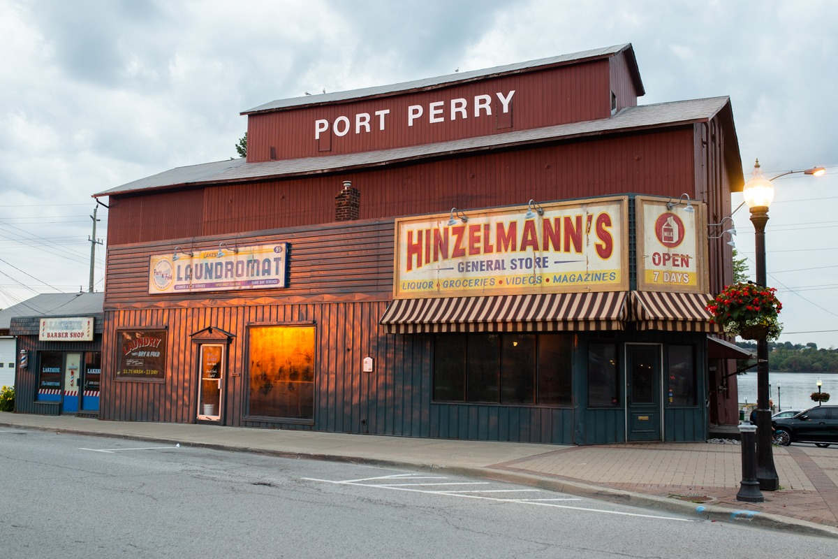 Photo of American Gods set, Port Perry, ON. Photo by Shay Conroy