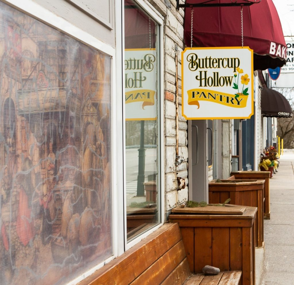 Buttercup Hollow Pantry store exterior.